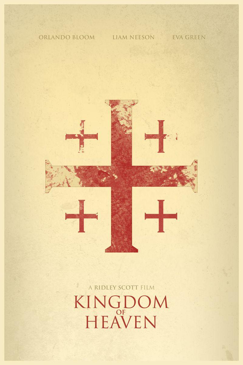Kingdom Of Heaven Kingdom Of Heaven Movie Posters Minimalist Minimal Movie Posters