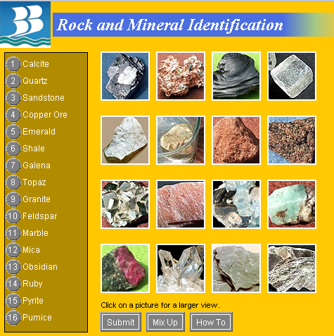 Rocks And Minerals Rocks And Minerals Minerals Mineral Identification