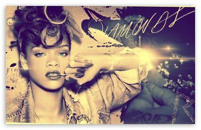 Rihanna diamonds youtube.