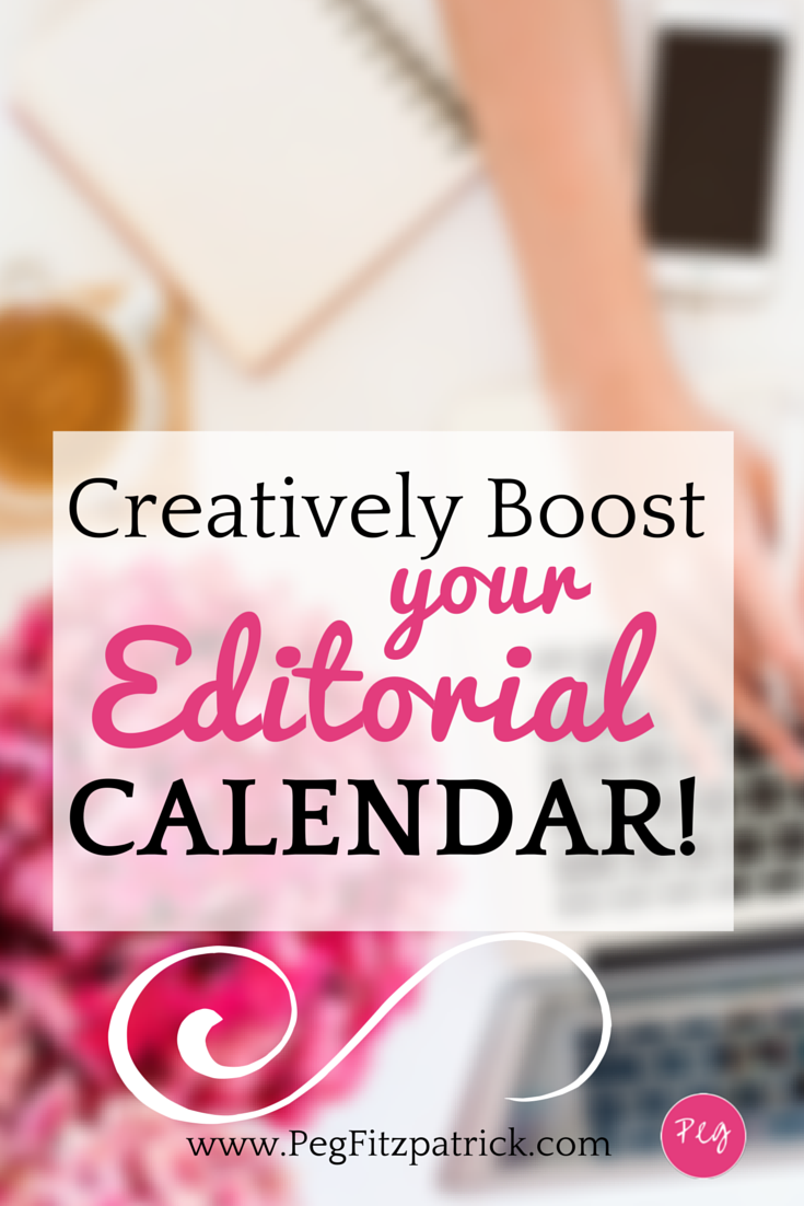 Bloggers: Get serious about your blog and creatively boost your editorial calendar for increased productivity.