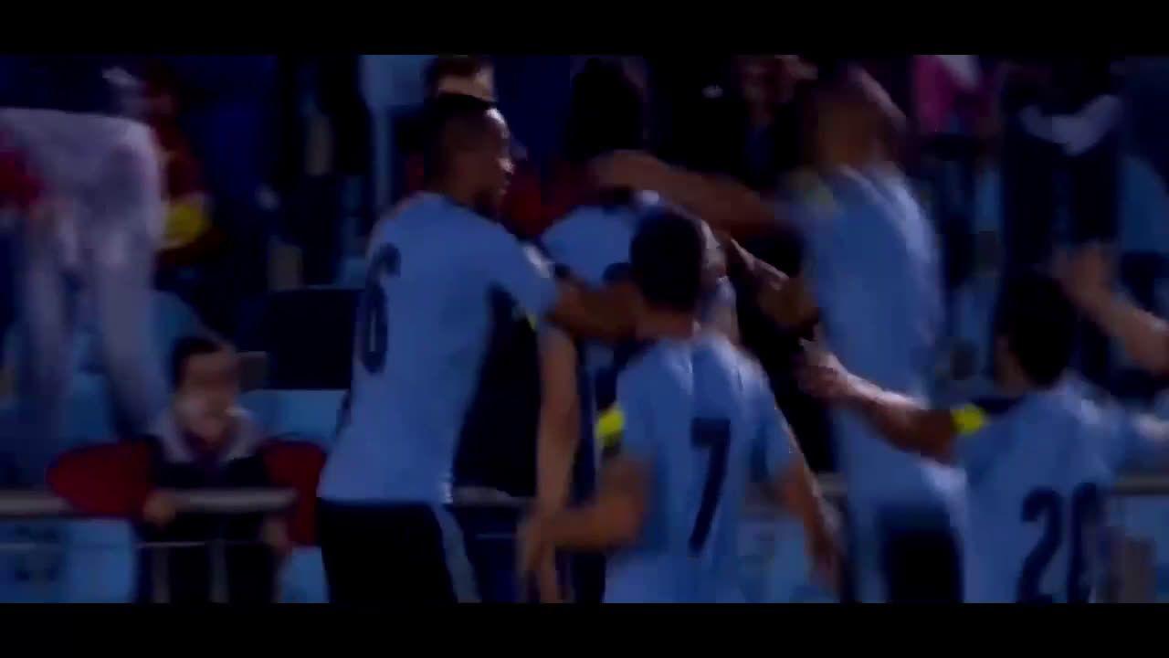 Cavani's goal and Suarez with the assist [Uruguay 1-0 Peru]