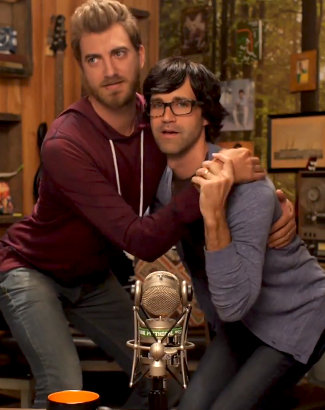 Link and Christy   Good mythical