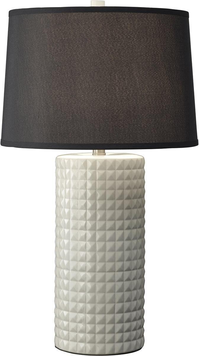 0-063573>1-Light Table Lamp Arctic Ceramic
