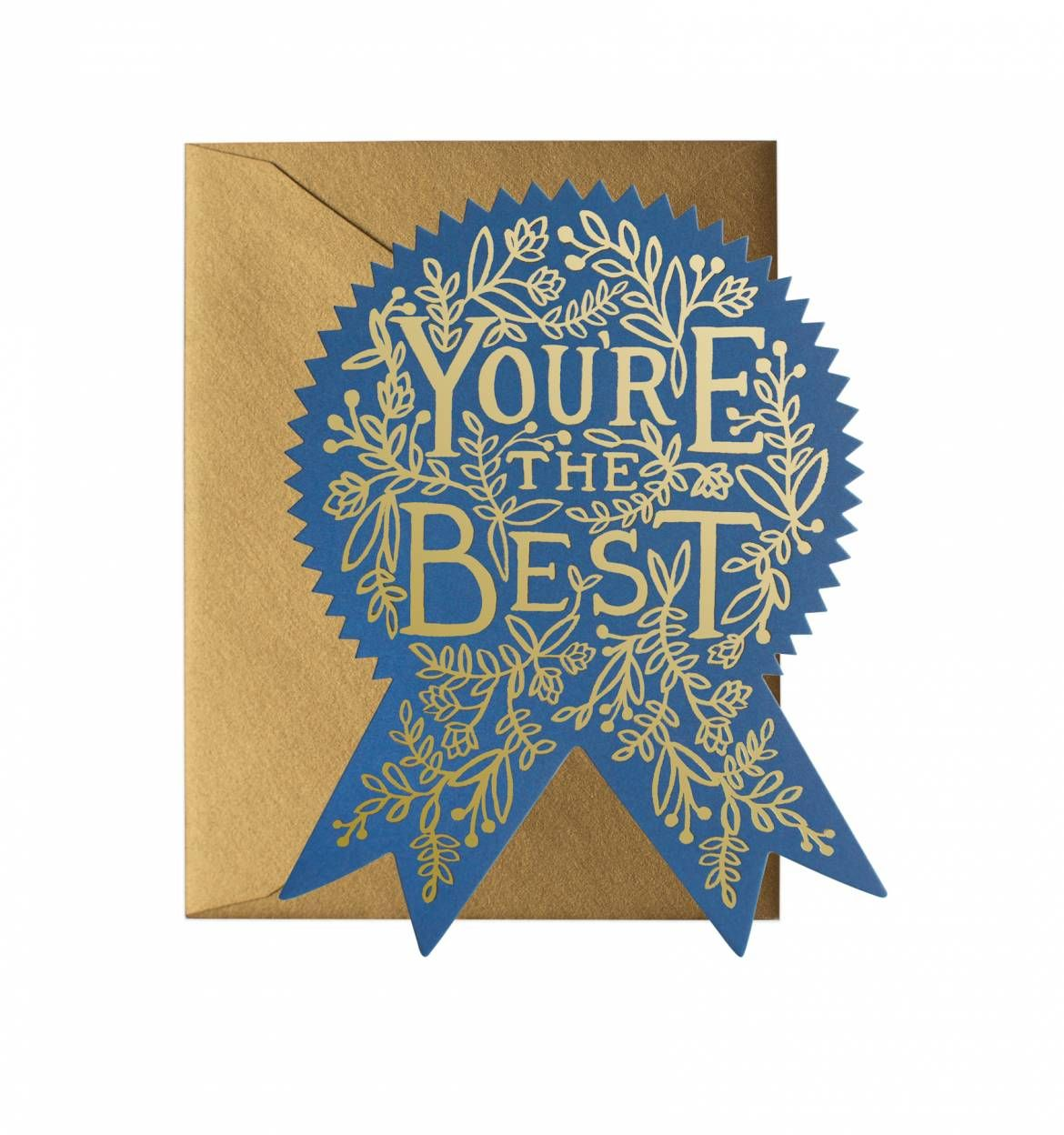 Youre the best available as a single die cut flat note or boxed youre the best greeting card kristyandbryce Image collections