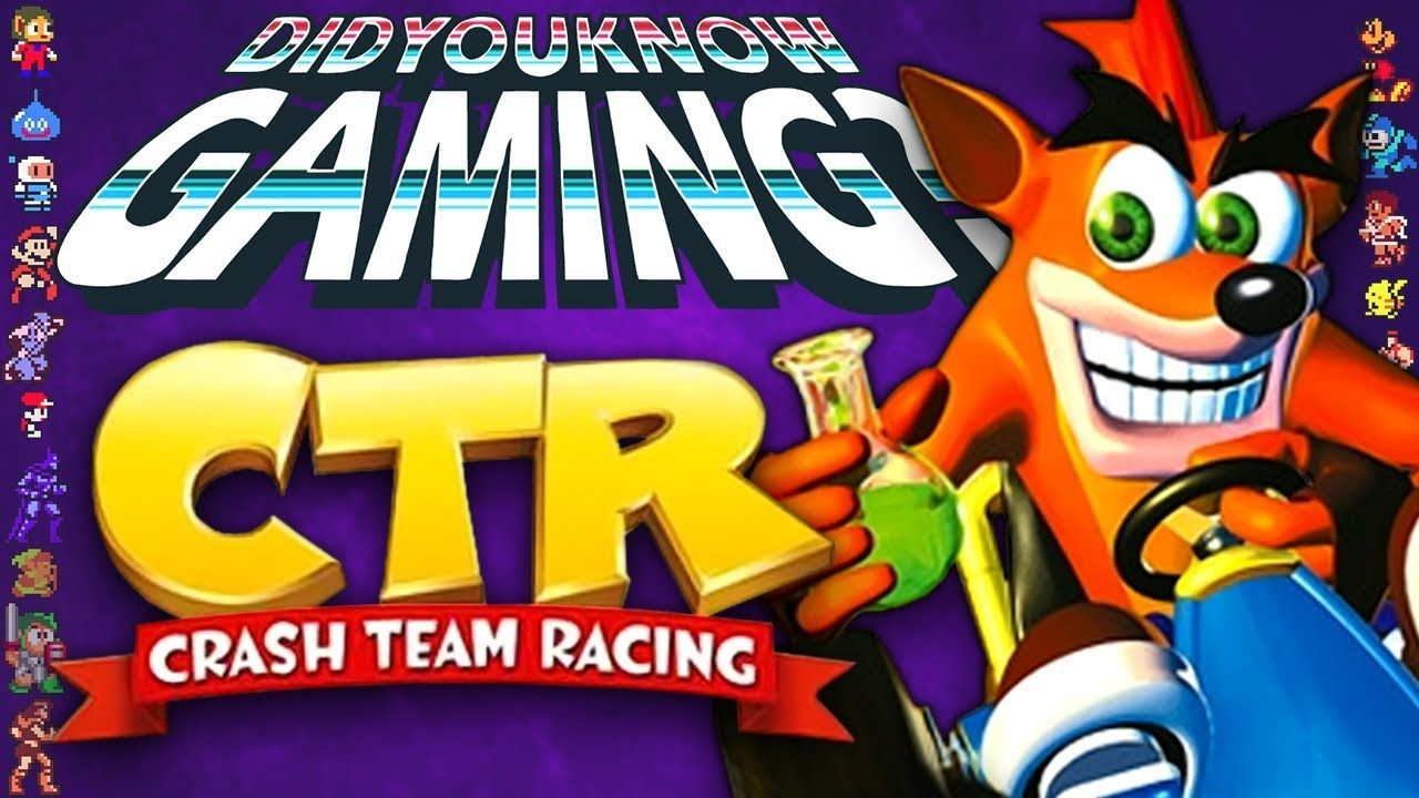 CTR Crash Team Racing Did You Know Gaming? Feat. Caddicarus
