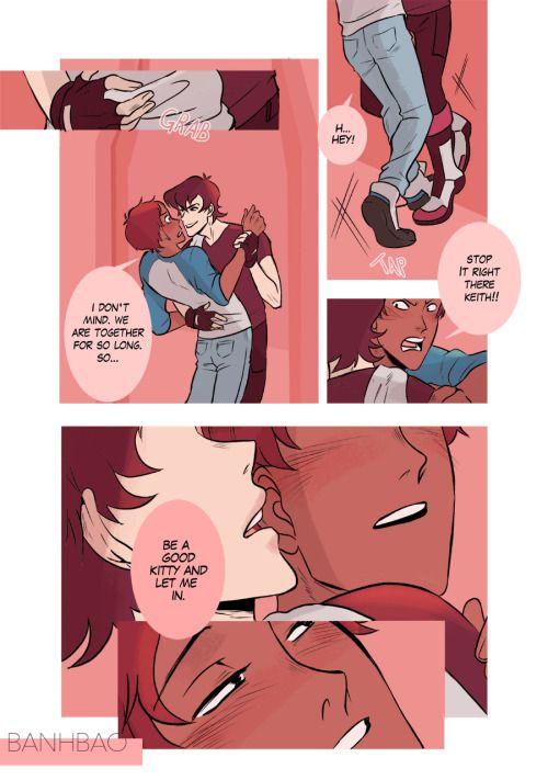 gay Comic rain kiss furry