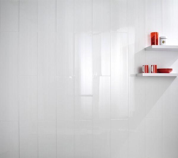 lambris PVC lames courtes Parquet pour un effet bois Pinterest