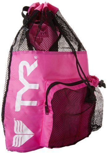 8e1f0fe2ec TYR Big Mesh Mummy Bag Pink by TYR. TYR Big Mesh Mummy Bag Pink ...