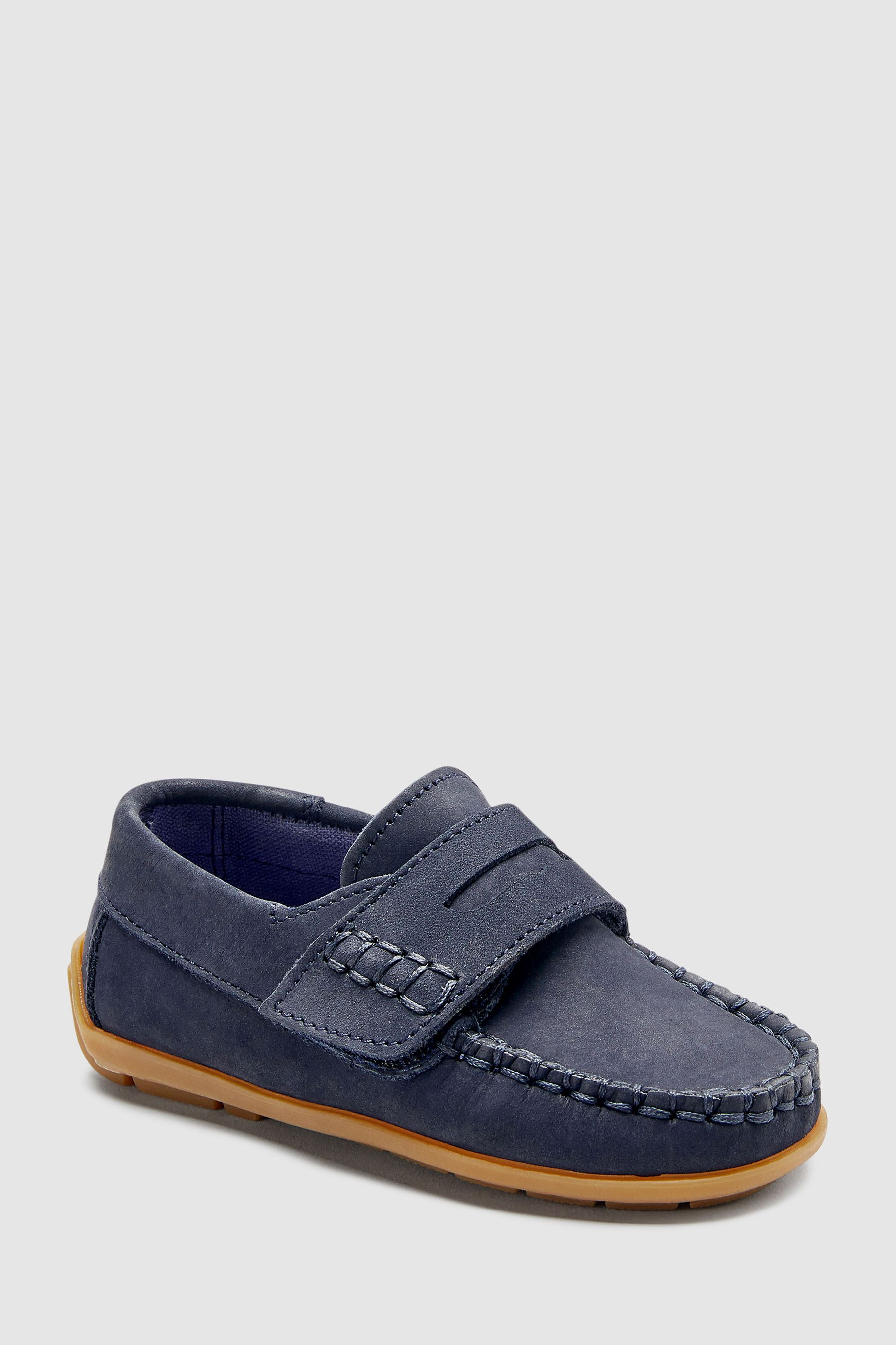 Boys Next Navy Penny Loafers (Younger
