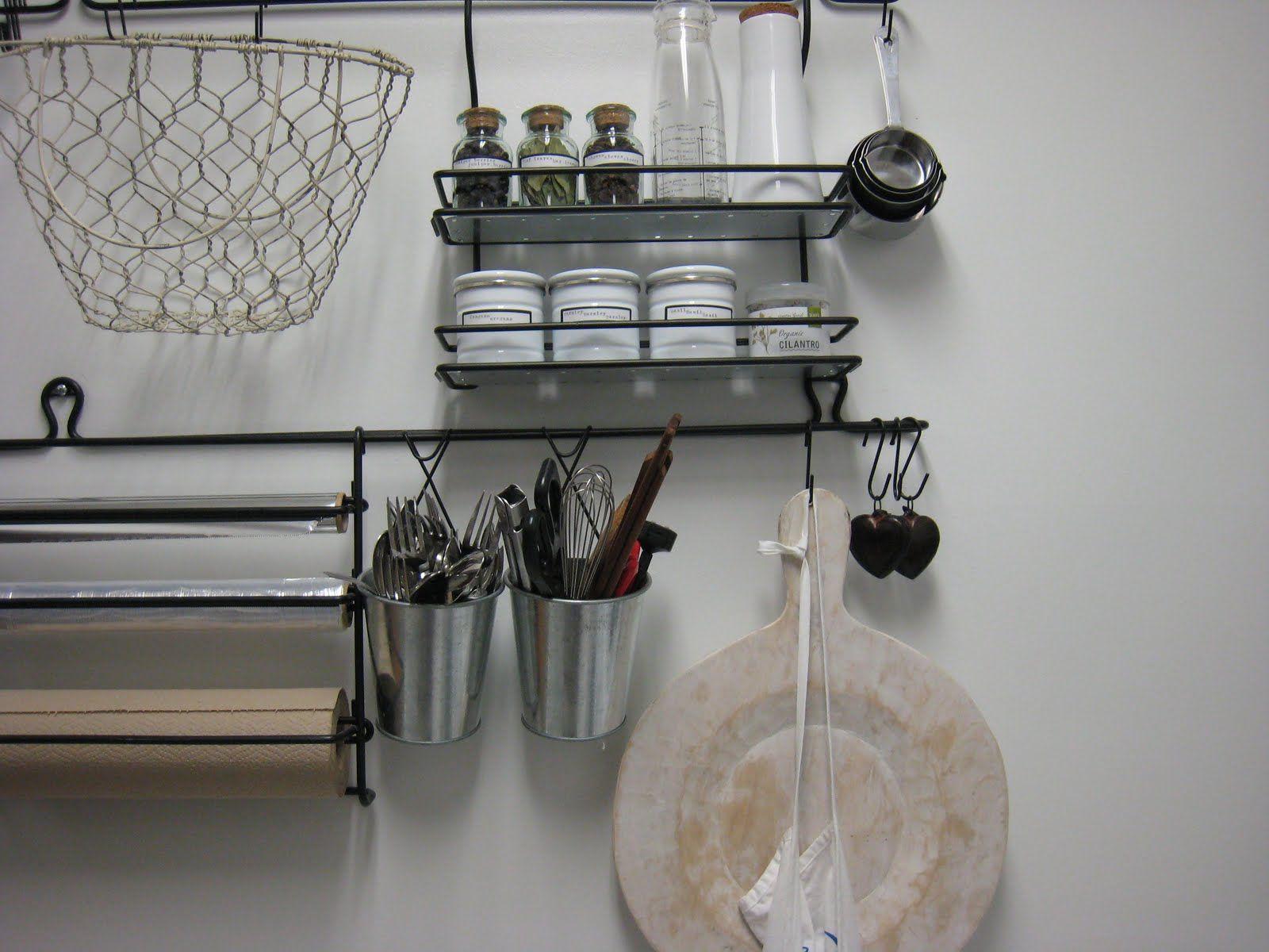 Kitchen Wall Organizers