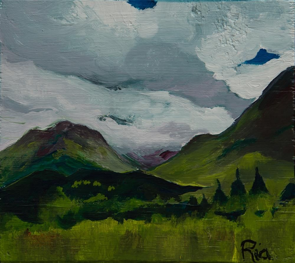 """Untitled"" original fine art by Ria Harboe"