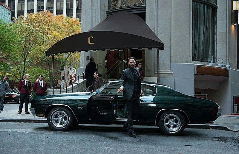 1970 Chevelle John Wick Ch 2 John Wick Car Chevrolet Chevelle