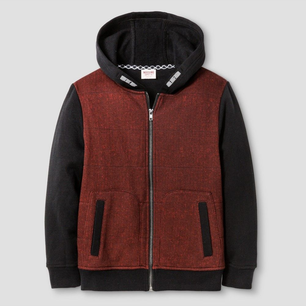Boys' Sweater Hoodie Mossimo Supply Co.- Red XS, Boy's