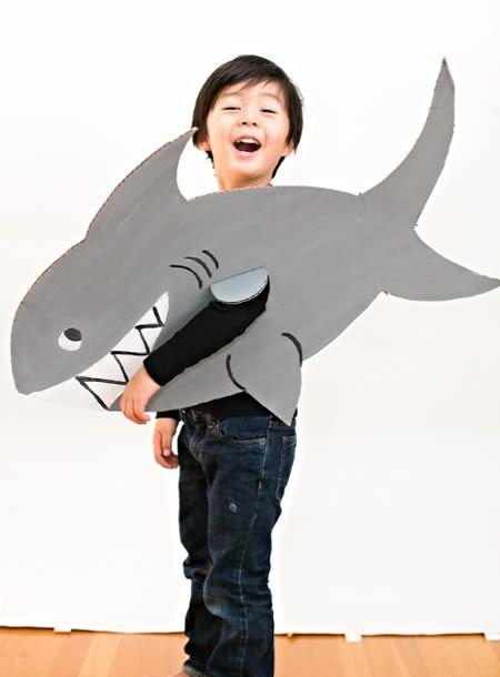 Image result for fantasia de tubarão infantil