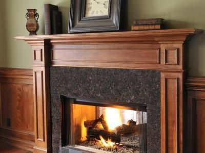 all about fireplaces and fireplace surrounds that s clever rh pinterest com