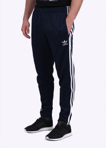 Adidas Originals Apparel SST Slim Tailored Track Pants - Navy / White