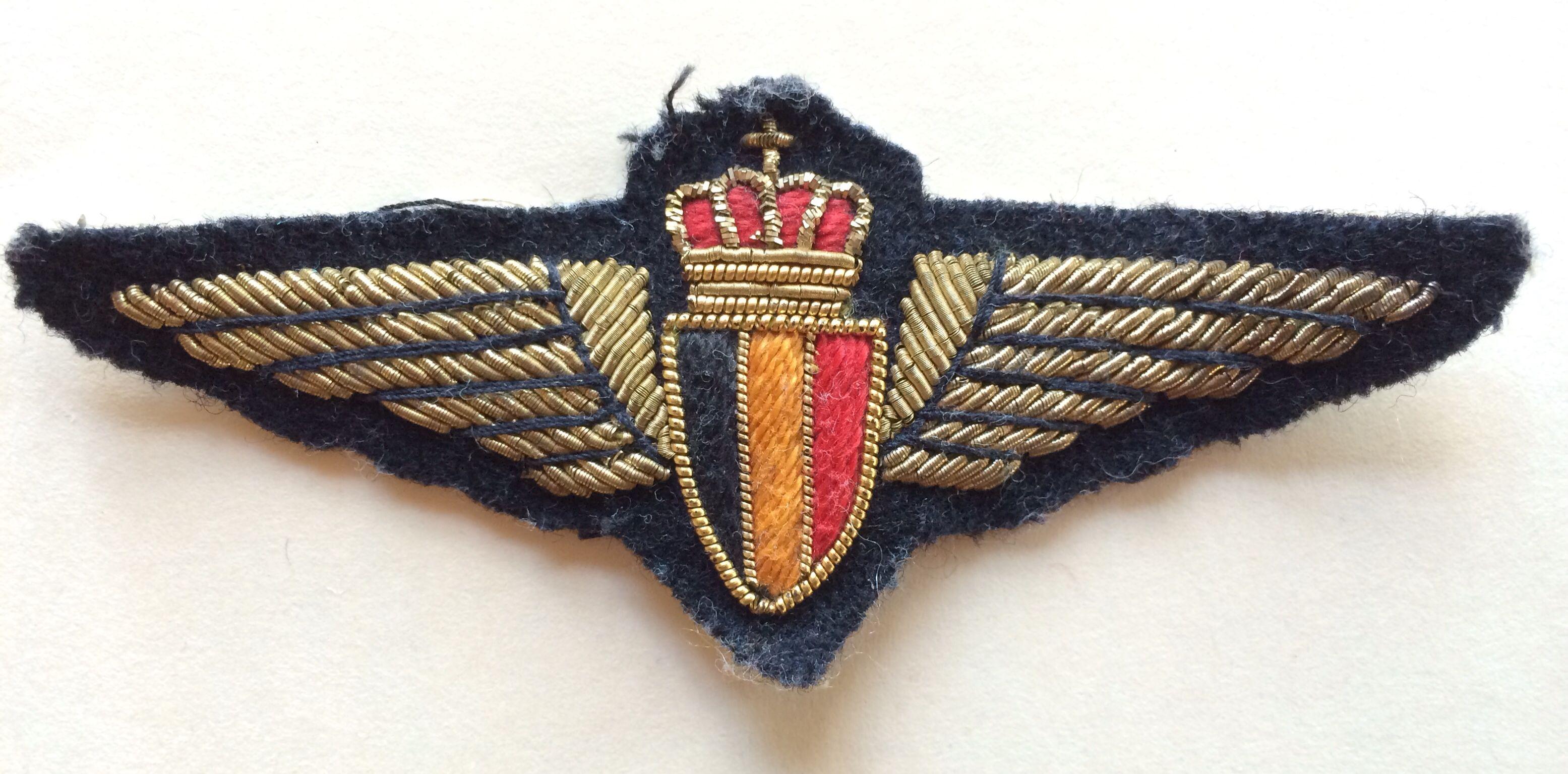 SABENA Belgian World Airways pilot wings Airline logo