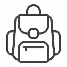 Backpack Bag Education School Study Icon Download On Iconfinder Icon Education Study