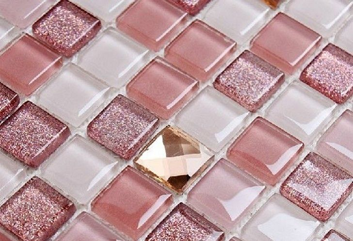 35 pink bathroom floor tiles ideas and pictures | Glass