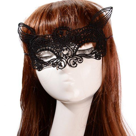 Masquerade Mask Costume Party Halloween Christmas Carnival Cat Fox Lace Masks