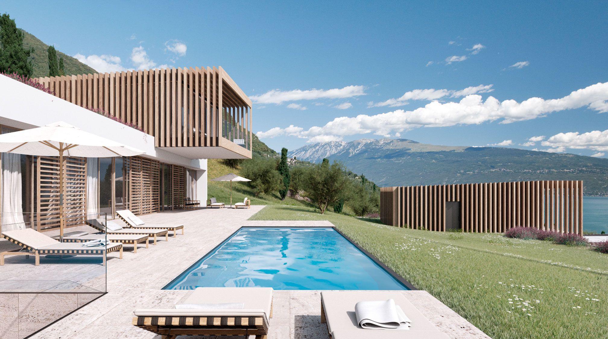 Moderne luxushäuser mit pool  Pin von Mo Ne auf house.grundriss.außen. | Pinterest | Grundrisse ...