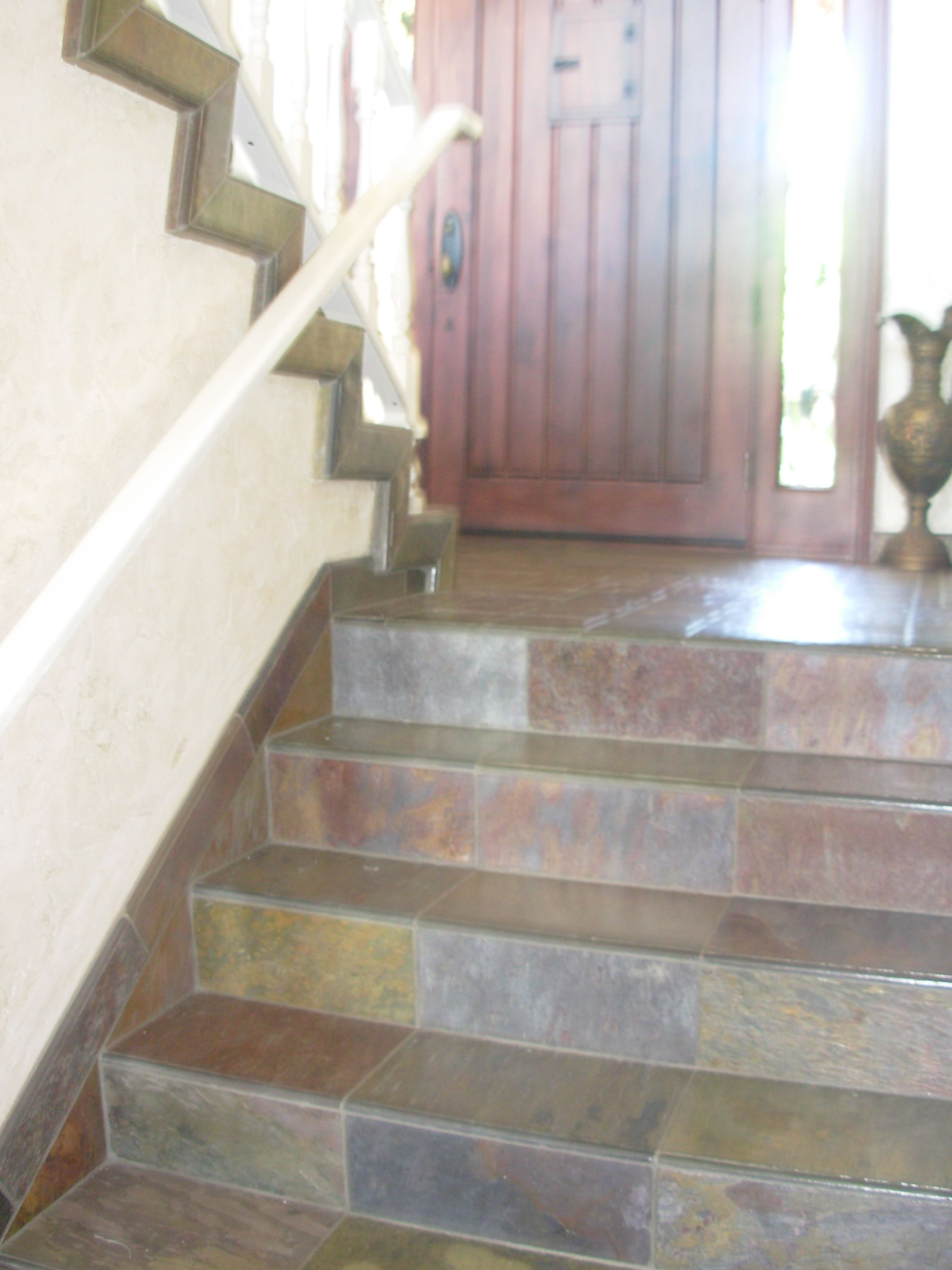 Best Slate Tile Stairs By Marcus Marty Tile Stairs Slate 400 x 300