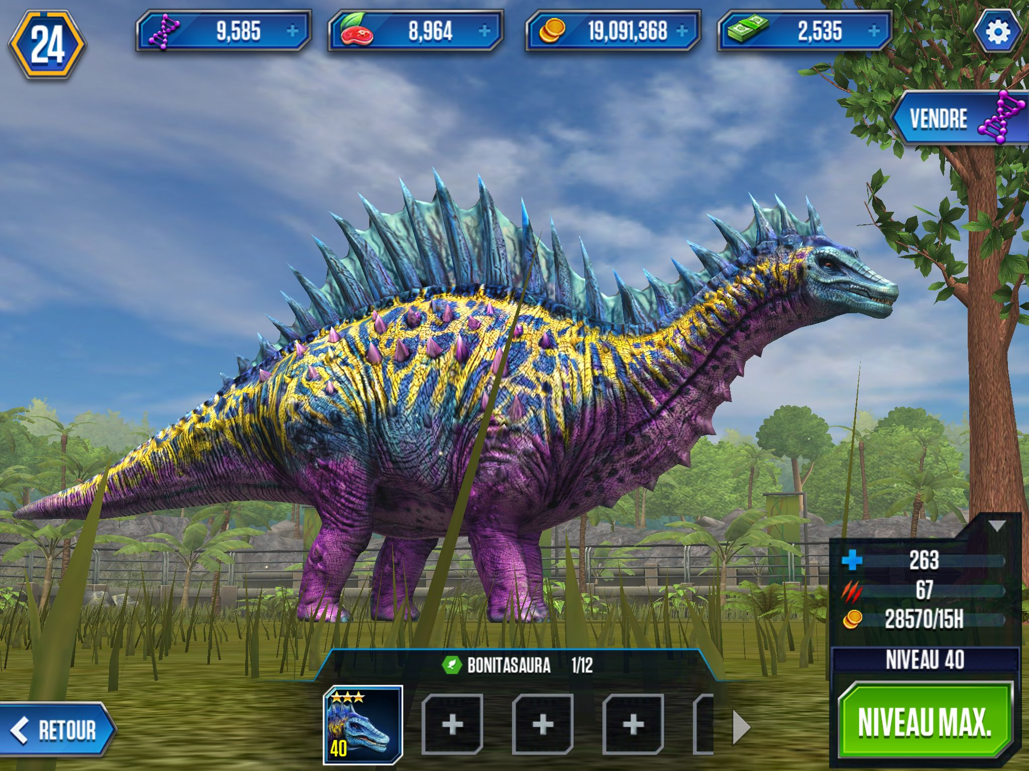 Bonitasaura jurassic world game dinosaure madilyn - Dinosaure jurassic world ...