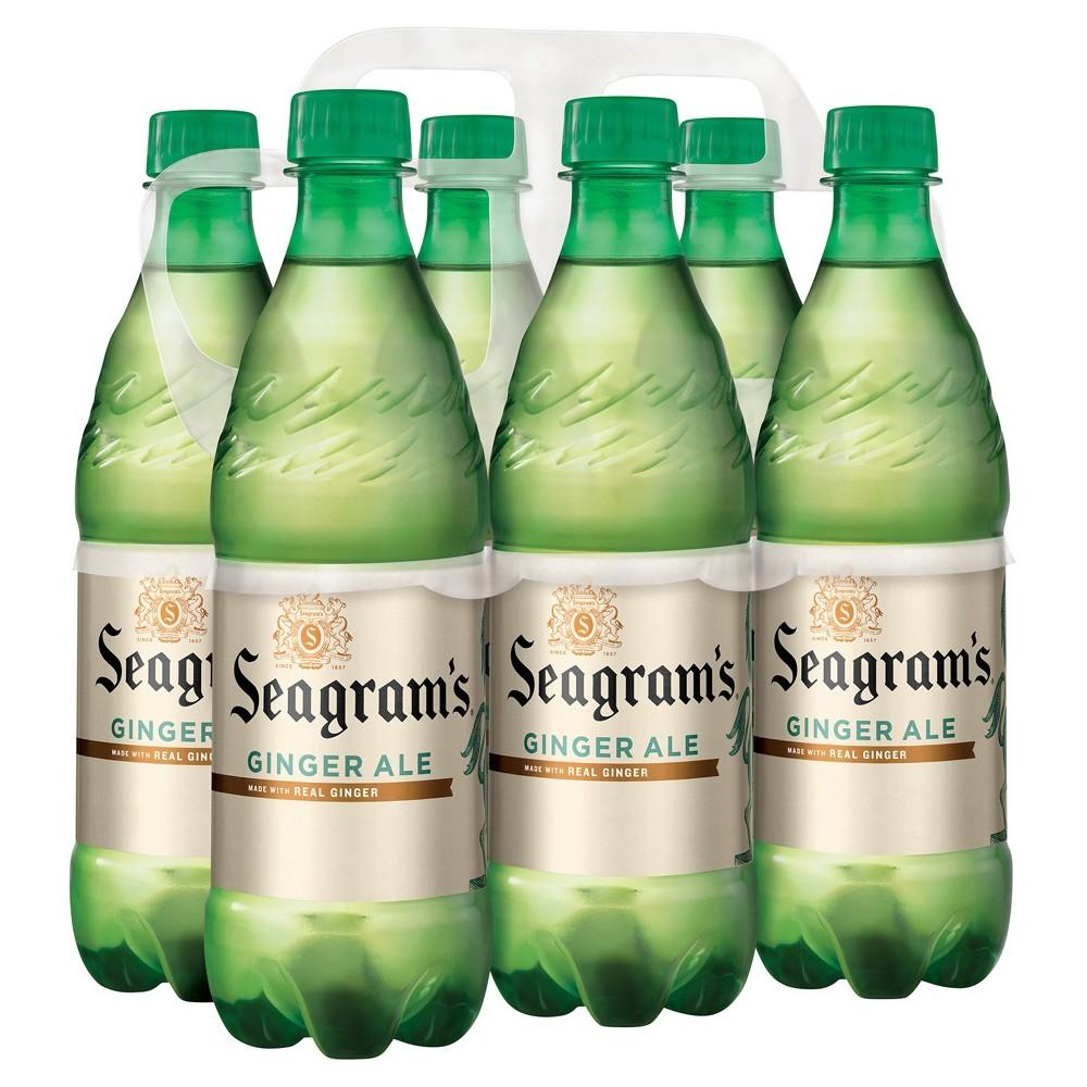 Seagram S Ginger Ale 6pk 16 9 Fl Oz Bottles In 2020 Ginger Ale Ale Bottle