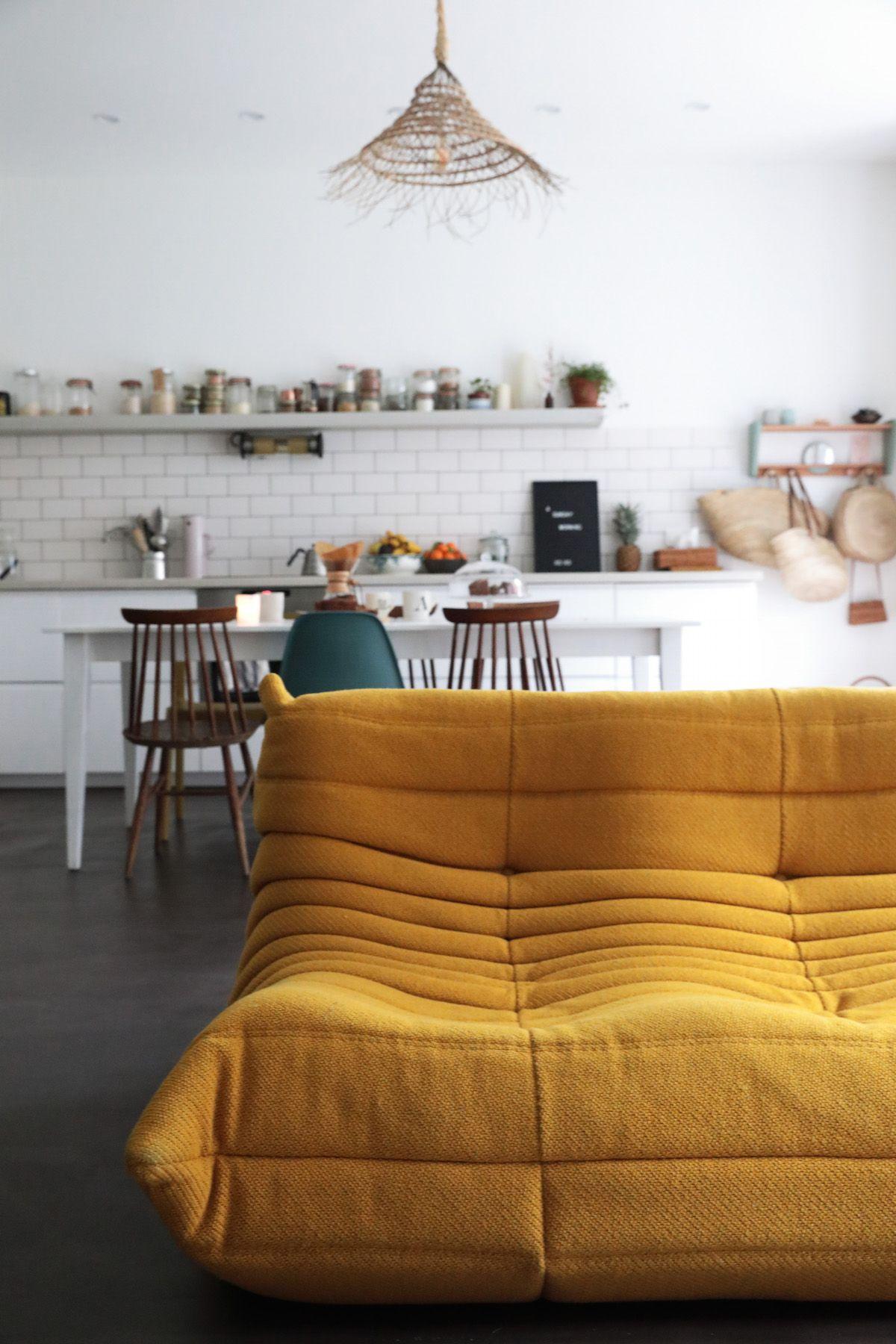 une déco scandinave et vintage dans un loft parisien | perrine, blog