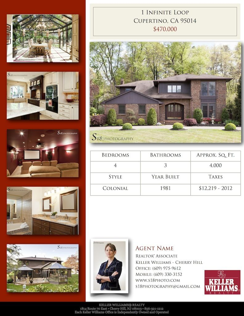 Real Estate Flyer Ideas  S Photography  Announcing Our Real