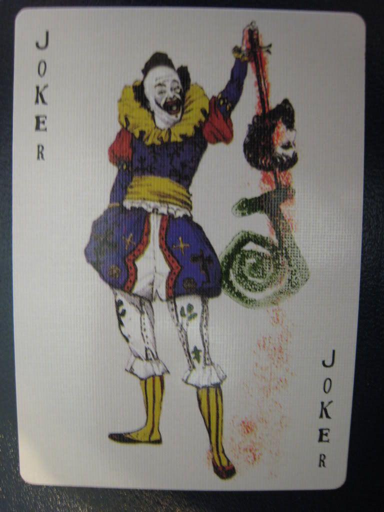 Batman Begins Joker Card Joker Card Batman Begi...