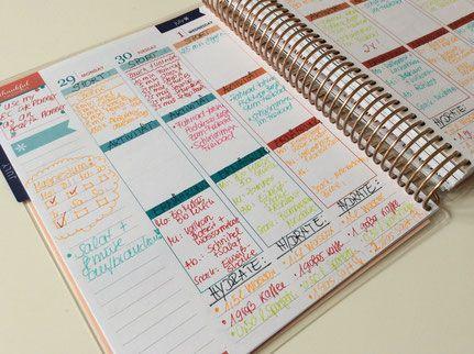 Erin Condren Lifeplanner als Fitness- Planer Planner Health-Planner Mealplanner
