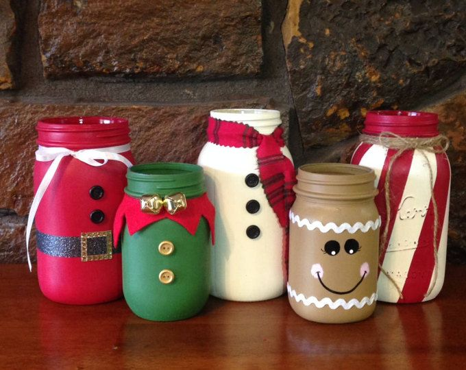Christmas Mason Jars Christmas Themed Mason Jars Christmas Jars Christmas Decor Mason Jar Decor S Christmas Jars Mason Jar Crafts Diy Christmas Mason Jars