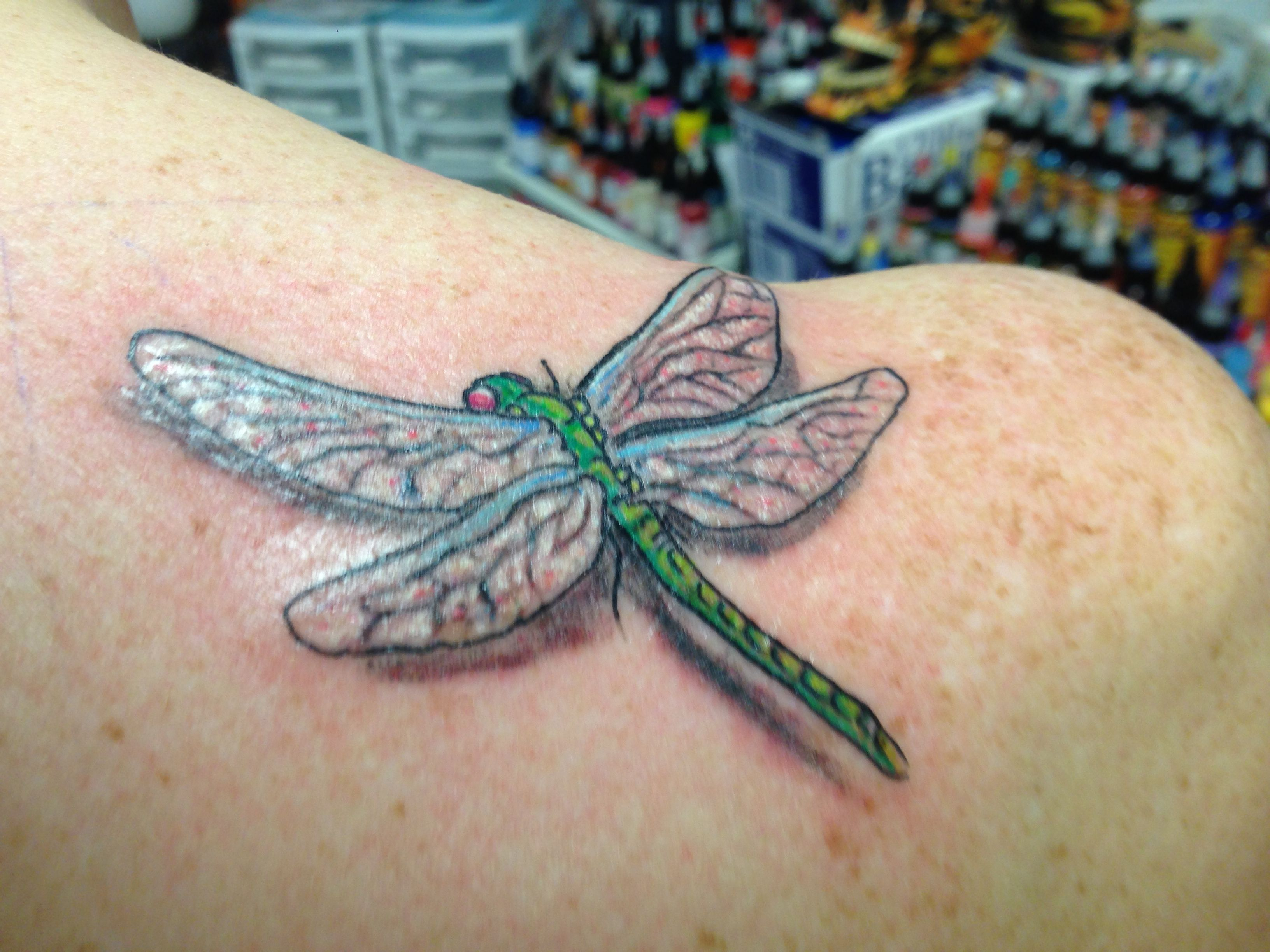 Dragonfly tattoo 3D  Ink Ideas  Pinterest  Dragonflies, Tattoo and Tatoos