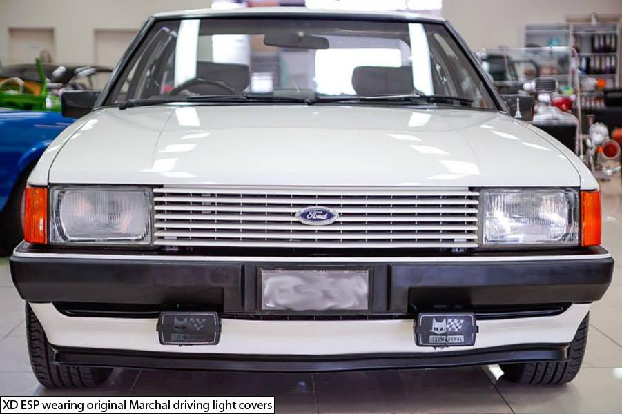 White Ford Falcon Xd Esp Front Fog Lights Ford Falcon Esp Falcon