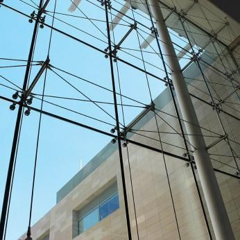 dgu spider glass curtain walls