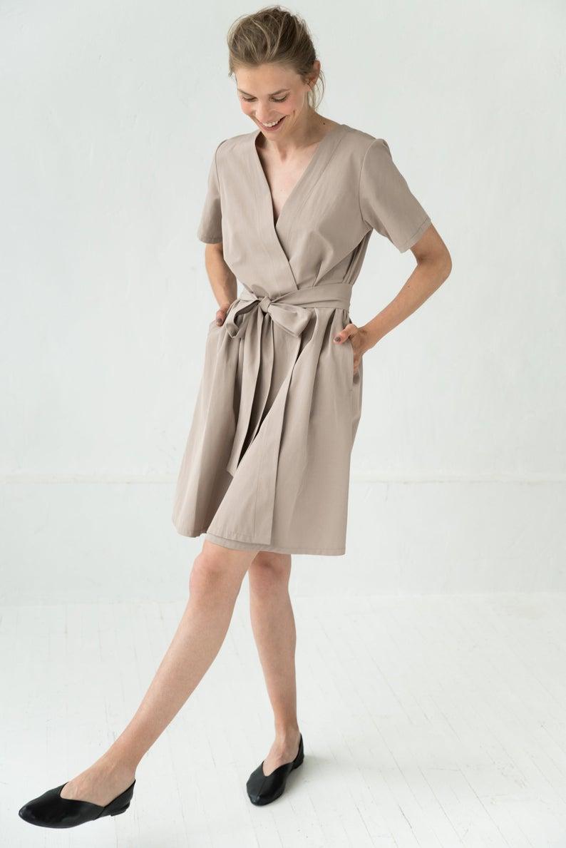 Linen Wrap Dress Summer Linen Dress Women Midi Dress Linen Etsy Summer Dresses For Women Wrap Dress Summer Summer Dresses [ 1189 x 794 Pixel ]