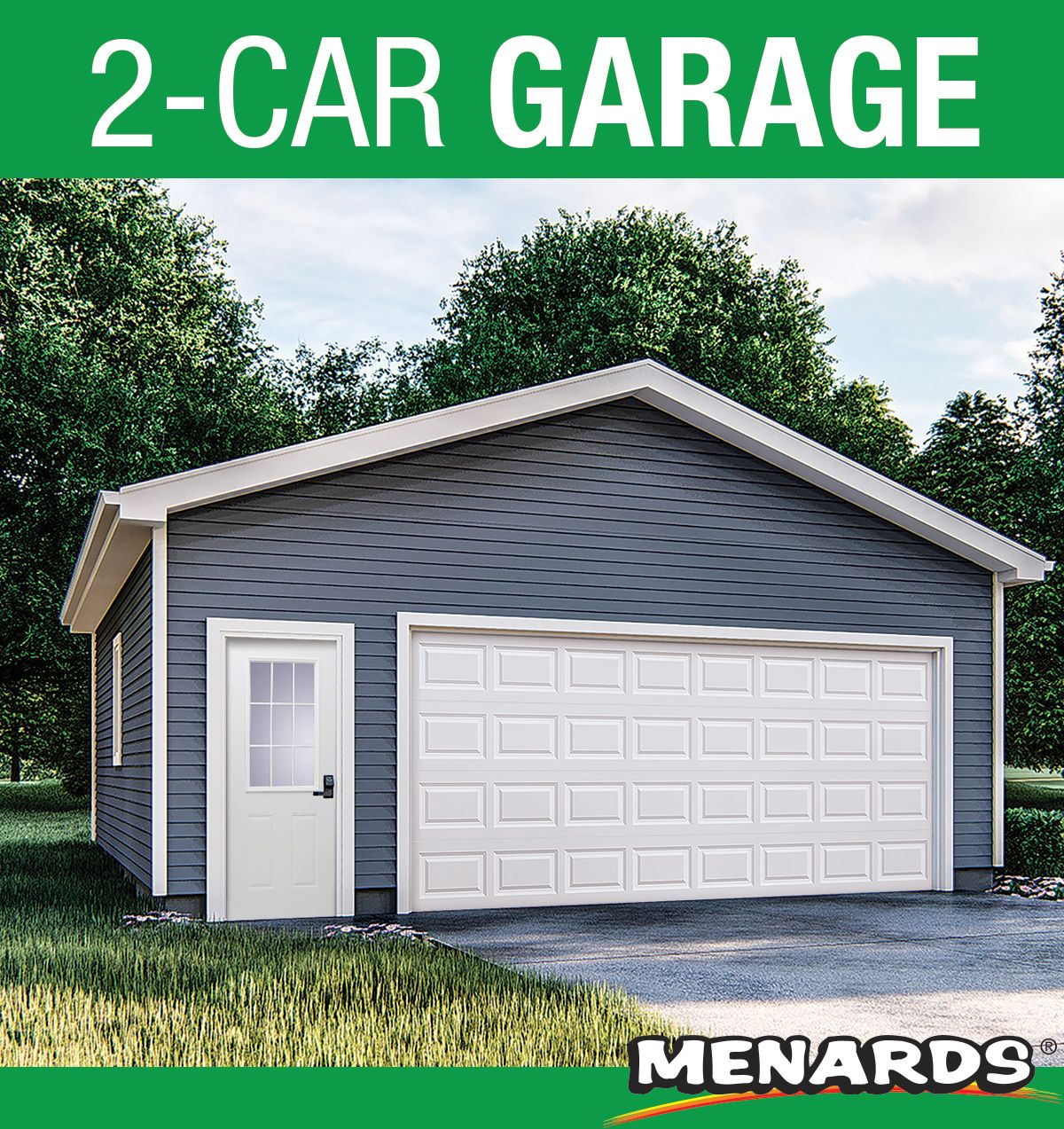 2 Car Garage 24 X 24 X 9 Material List In 2020 2 Car Garage Plans Car Garage Garage