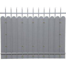 Cloture Cloture Aluminium Fer Bois Pvc Leroy Merlin Cloture Acier Cloture Aluminium Acier