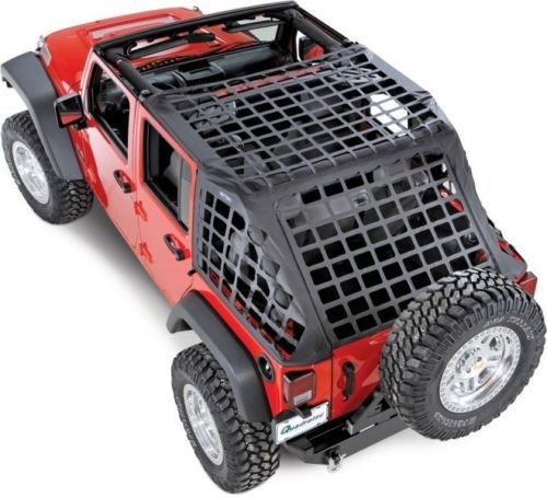 Smittybilt C Res System Cargo Net 07 15 Jeep Wrangler Jk Unlimited