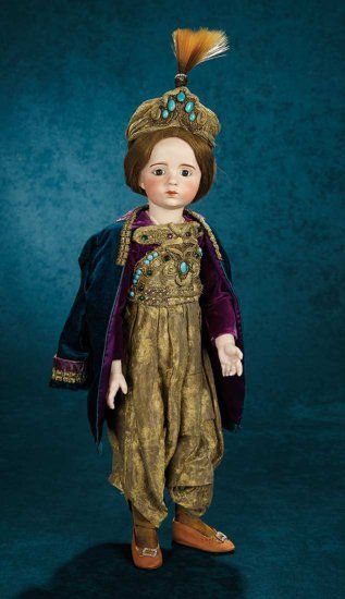 French Bisque Art Character Doll by Albert Marque, #7 from the Series