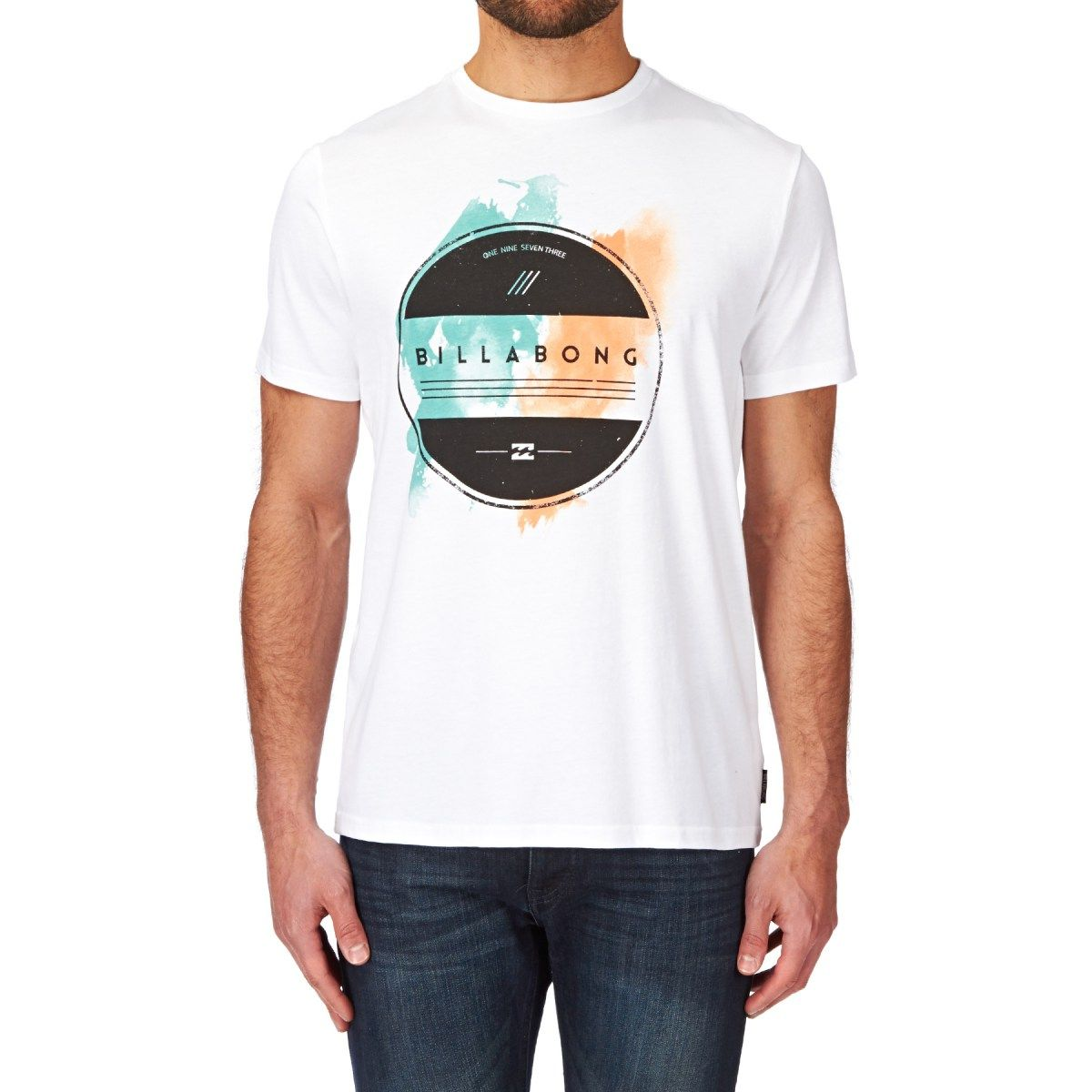 Men's Billabong T-shirts - Billabong Allusion T-shirt - White
