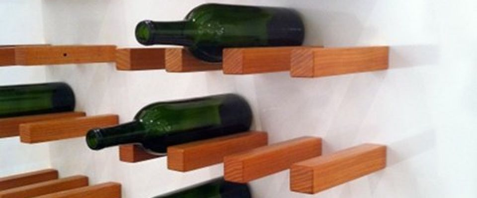Perfect size for any size wine bottle. Need to replace ours (from IKEA) with this IKEA hack.