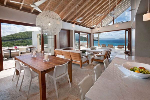 Distinct Geometry and Enthralling Caribbean Views