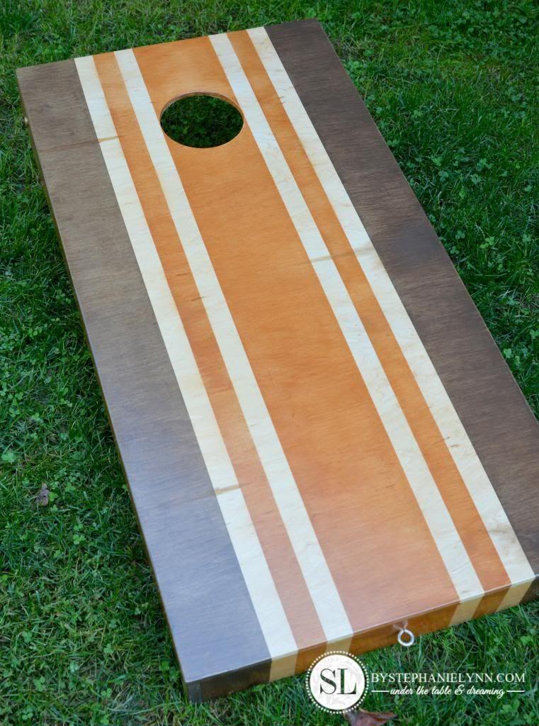 diy cornhole boards - Cornhole Design Ideas