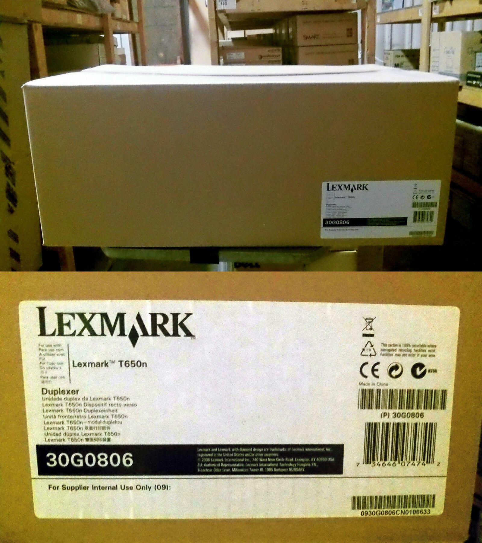 NEW Lexmark T650n Duplexer 30G0806