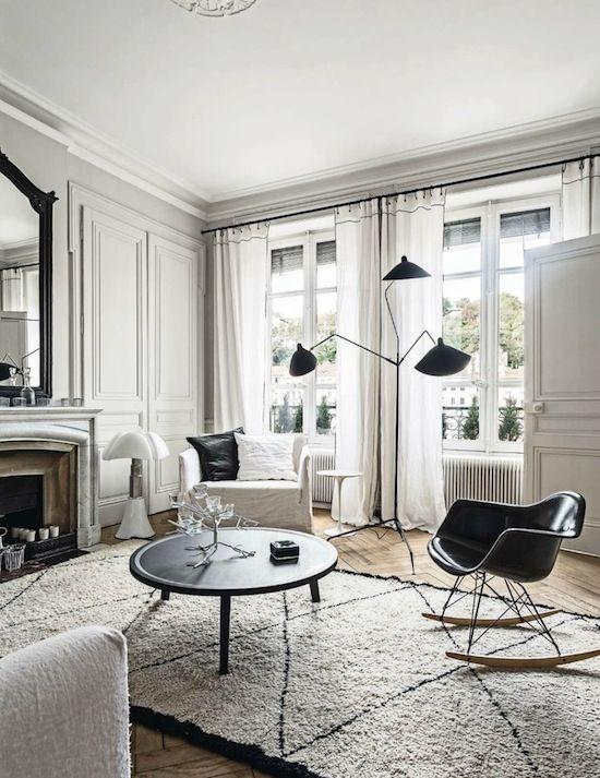 Décoration appartement maison style haussmannien | LOVELL Déco ...
