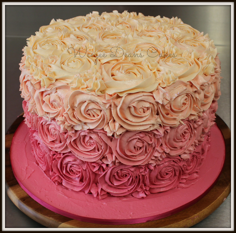 Female Birthday Cakes Weegee Deans Elegant