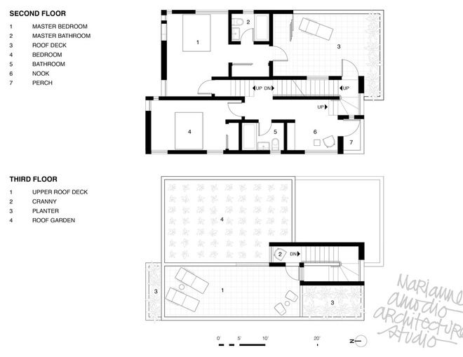 Houzz Tour Innovative Home Reunites Generations Under One Roof Building Design Floor Plans Architecture