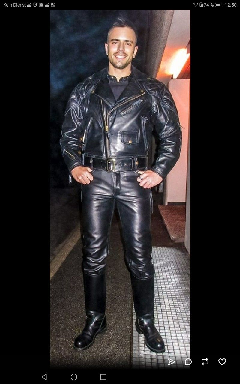 Pin By Rich Hilligass On Leather Leather Fashion Men Leather Jeans Men Mens Leather Clothing [ 1280 x 800 Pixel ]